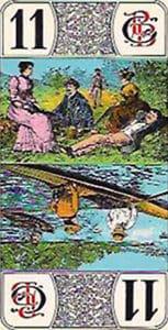 Tarot de Luxo da Grimaud - Trunfo 11