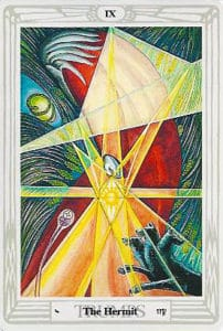 Thoth Tarot - Aleister Crowley - Eremita