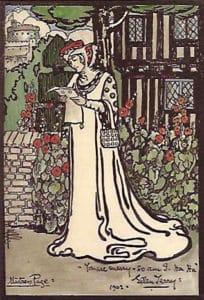Pamela Colman Smith Retrato - Ellen Terry 1902