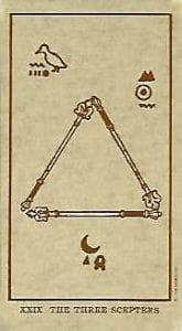 Tarot Egípcio baseado no Comte de St Gemain