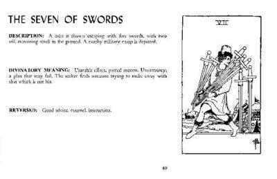 Página de The Tarot Revelead de Eden Gray