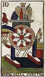 Tarocchi Vergnano - Roda da Fortuna
