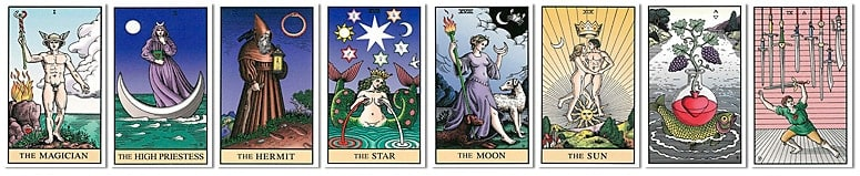 Alchemical Tarot Art Edition