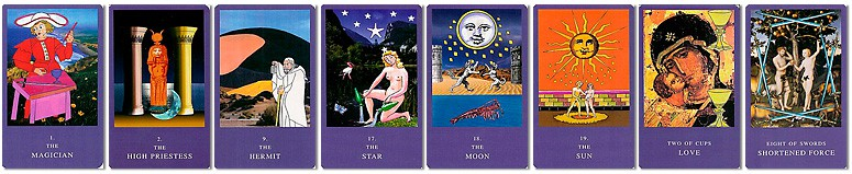 Dion Fortune Tarot Cards