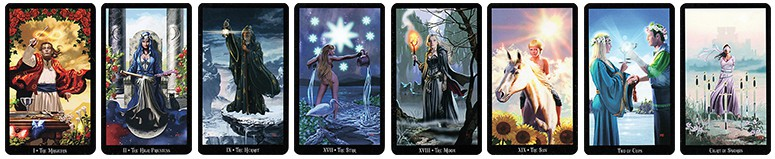 Witches Tarot - Ellen Dugan