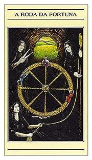 Roda da Fortuna | Tarô Mitológico