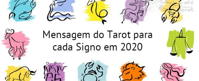 Mensagem para 2020 | Café com Tarot
