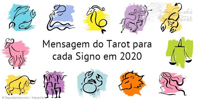 Mensagem para 2020   Café com Tarot